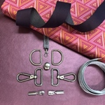 Nähpaket Yello Bag Lila metallic