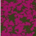 SELINA Viskosejersey Blüten pink oliv