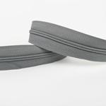Endlosreißverschluss grau