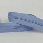 Endlosreißverschluss hellblau