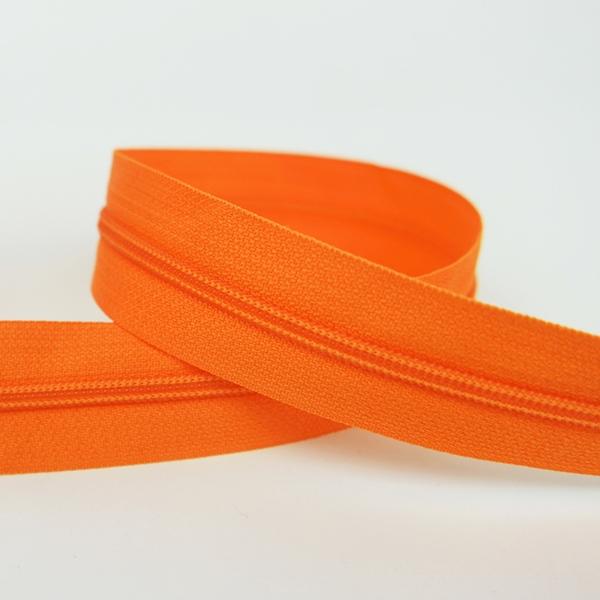 Endlosreißverschluss orange