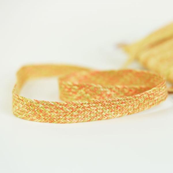 Baumwolltresse 18 mm mehrfarbig orange