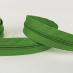 Endlosreißverschluss grasgrün