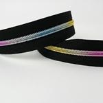 Endlosreißverschluss Rainbow bunt