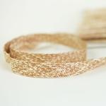Baumwolltresse 18 mm mehrfarbig beige