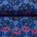 MALAY by Lila Lotta Viskose Pfau blau