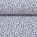 MONI Batist Dots Batik blau
