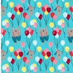 FUN HOUSE Jersey Bären, Hunde & Ballons