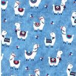 COWBOY BLUE Jersey Alpakas hellblau