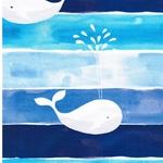 HARBOUR WHALE Jersey Wale blau