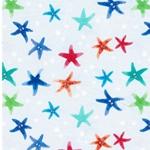 HARBOUR STARFISH Jersey Seesterne blau