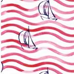 HARBOUR BOATS Jersey Segelboote weiß kor