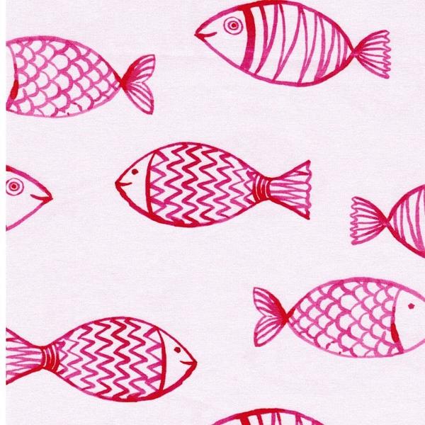 HARBOUR FISH Jersey große Fische rosa