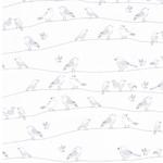MINI BABY Jersey Vogelreihen wollweiß