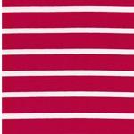 BENJA Viskosejersey Streifen pink weiß