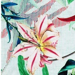 GRETA Viskosejersey Blätter bunt
