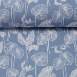 BRAZIL by Lila Lotta Canvas hellblau