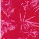 TUTE Viskosesatin Blüten rot