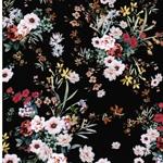 IMELDA Viskose Blumensträuße schwarz
