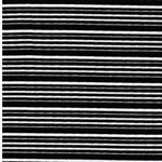 OSIRIDE Viskosejersey Streifen schwarz