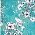 BELMIRA Viskose Blumen mint