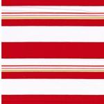 ADONCIA Piquee Webware Streifen weiß rot