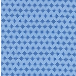 FRANZISKA Webstoff Sternmuster blau