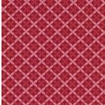 FRANZISKA Webstoff Rautenmuster rot