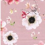 ROSEALINA Summer-Denim Blüten altrosa