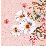 ACIANO Popeline Spiegelbordüre Blüten