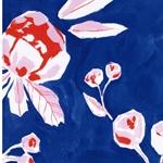 NICOLETTA Scuba Kirschen Blüten blau