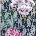 KATHINKA elastische Blumenspitze blau