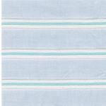 DELCINE Webware Streifen hellblau