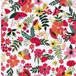 GARDENARA Webware Blumen weiß