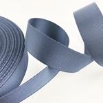 Gurtband Polyester 25 mm glänzend navy
