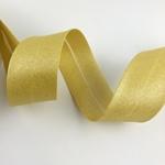 Schrägband breit mettalic gold