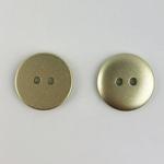Polyesterknopf 12 mm 2-Loch gold