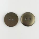 Polyesterknopf 12 mm 2-Loch bronze