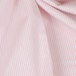 FLORENCIA Popeline ORGANIC Streifen rosa