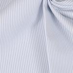 FLORENCIA Popeline ORGANIC Streifen blau