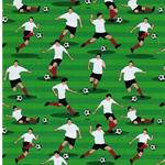 KIM Popeline Fußballer grün