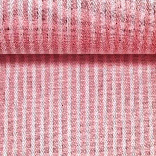 Baumwoll-Gemisch Leinenoptik rosa