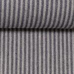 Baumwoll-Gemisch Leinenoptik dunkelblau
