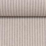 Baumwoll-Gemisch Leinenoptik grau