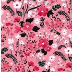 MATTES Jersey Blumenwiese rosa