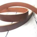 Blanklederriemen 3,5mm rotbraun 2,5mm br