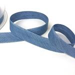 Chambrayschrägband Streifen helles jeans