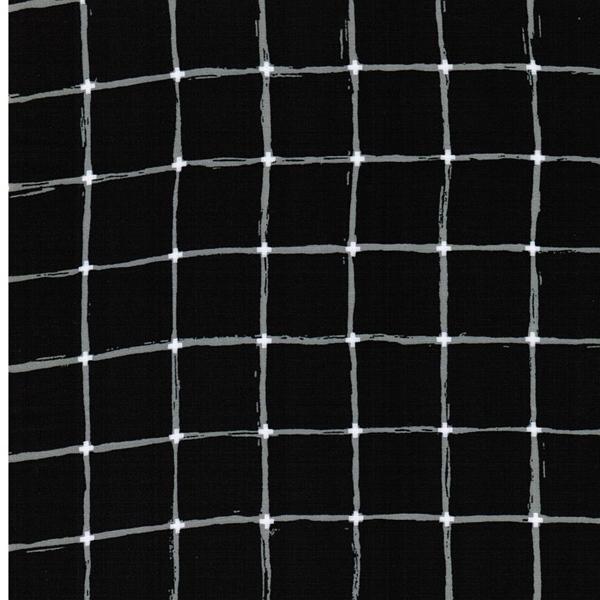 GRID Rayon Karo schwarz
