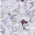 PIXELFLY EDEN LAVENDER Jersey Blumen