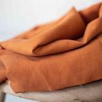 TENCEL/LINEN SLUB abricot